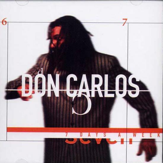Don Carlos: 7 Days a Week Prijs: € 14.50