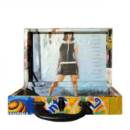 koffertje Senegal gemaakt van gerecycled blik 11.50 / 13.50 / 23.50 Prijs: € 13.50