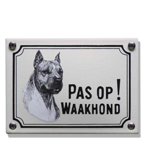 Stafford Terrier WHK01 14x10cm Prijs: € 21.50