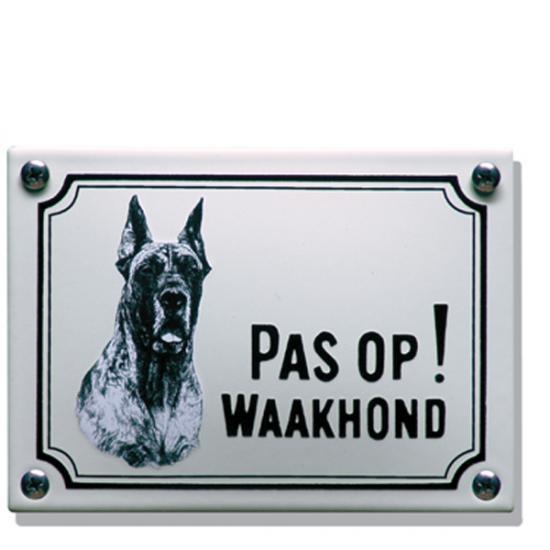 Deense Dog WHK03 14x10cm Prijs: € 21.50
