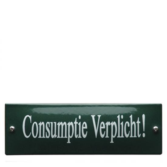 KNH25 15x5cm bestellen? Maak het bedrag over + vijf euro verzendkosten op giro 0190824 tnv De Emaillekeizer onder vermelding van de code hierboven. De levertijd is 2 tot 4 weken Prijs: € 22.50