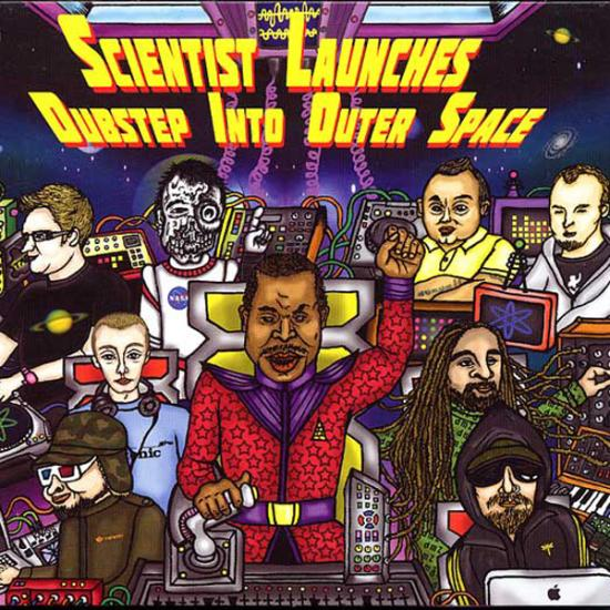 Scientist: Launches Dubstep Into Outer Space 2-CD Prijs: € 19.50