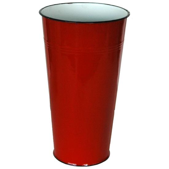 vaas rood 40 cm Prijs: € 10.00