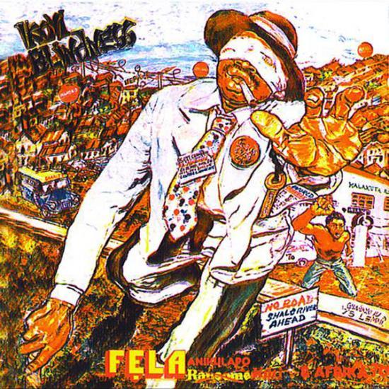 Fela Kuti: Ikoyi Blindness + Kalakuta Show 2 lp's op een cd Prijs: € 14.50