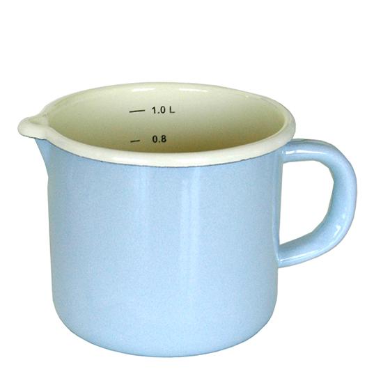 maatbeker 1 liter - blauw Ø 13 cm  Prijs: € 9.50