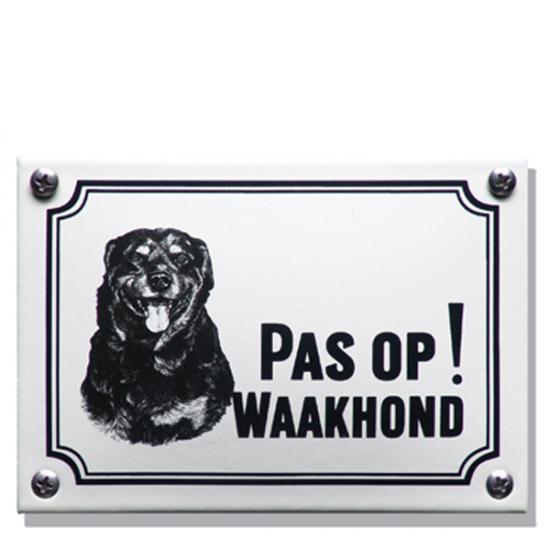 Rottweiler WHK09 14x10cm Prijs: € 21.50