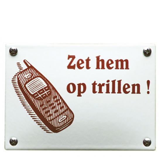 KNH83 14x10cm bestellen? Maak het bedrag over + vijf euro verzendkosten op giro 0190824 tnv De Emaillekeizer onder vermelding van de code hierboven. De levertijd is 2 tot 4 weken Prijs: € 22.50