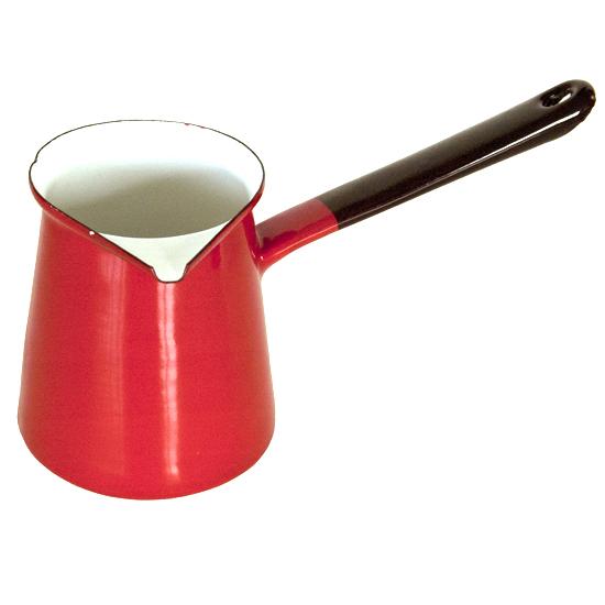 koffiepot Ø 10 cm- rood Prijs: € 11.50