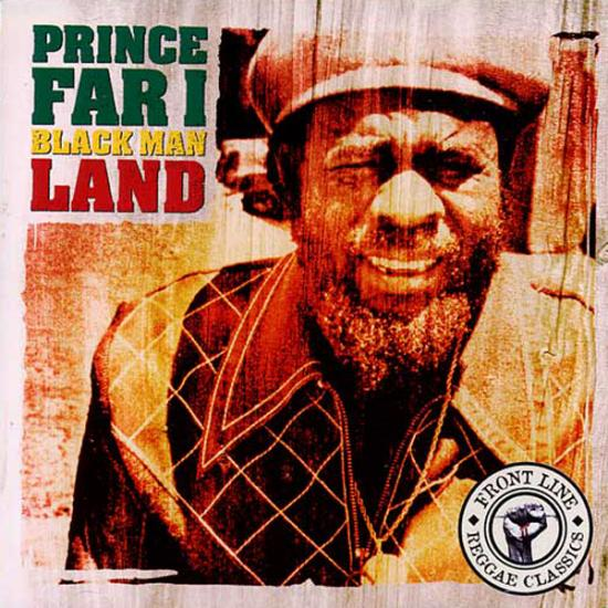 Prince Far I: Blackman Land Prijs: € 12.50