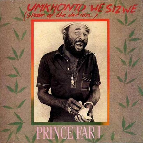 Prince Far I: Umkhonto We Sizwe Prijs: € 16.00