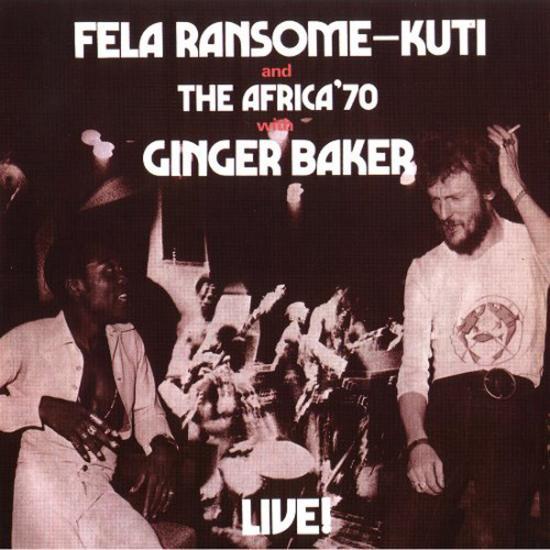 Fela Kuti: Live With Ginger Baker Prijs: € 14.50