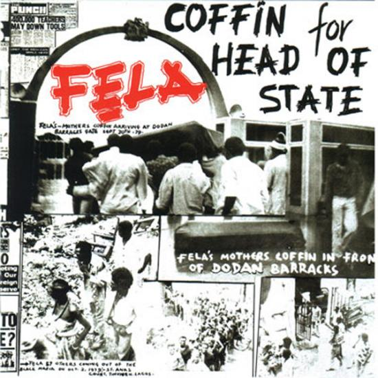 Fela Kuti: Coffin For The Head Of State - Unknown Soldier Prijs: € 14.50