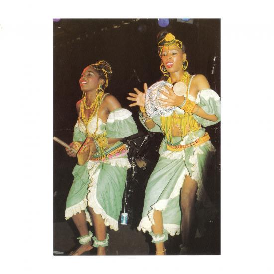 Dochters van Fela Anikulapo Kuti Melkweg Amsterdam Iceburner, 1997 Prijs: € 1.00