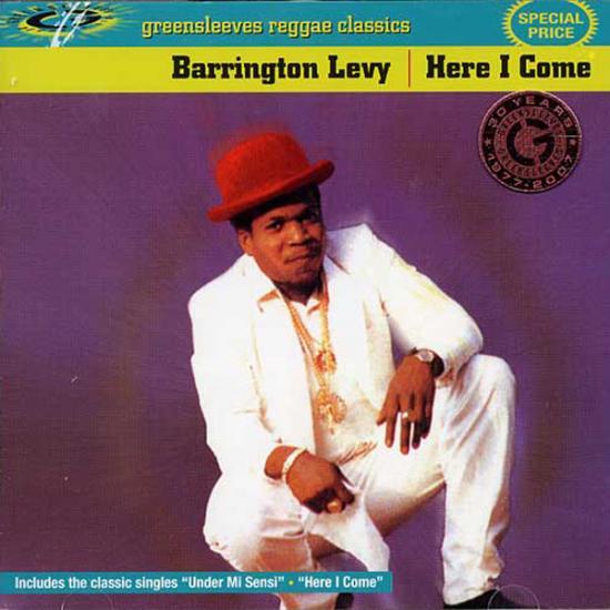 Barrington Levy: Here I Come Prijs: € 12.50