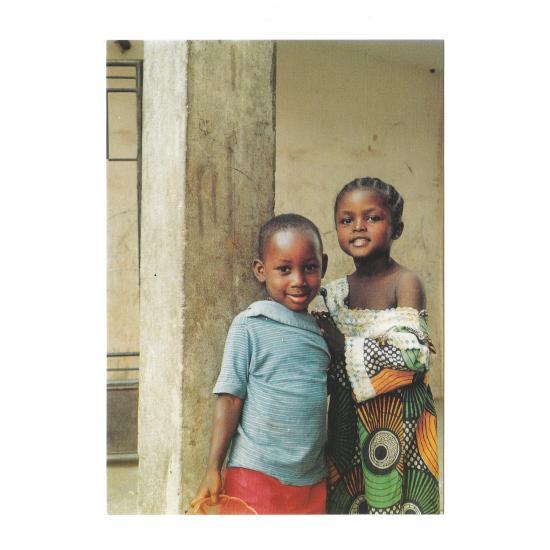 Kinderen in Kumasi Mandy Elsas, 1999 Prijs: € 1.00