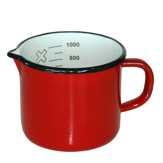 1 liter- rood Ø 13 cm  Prijs: € 9.50