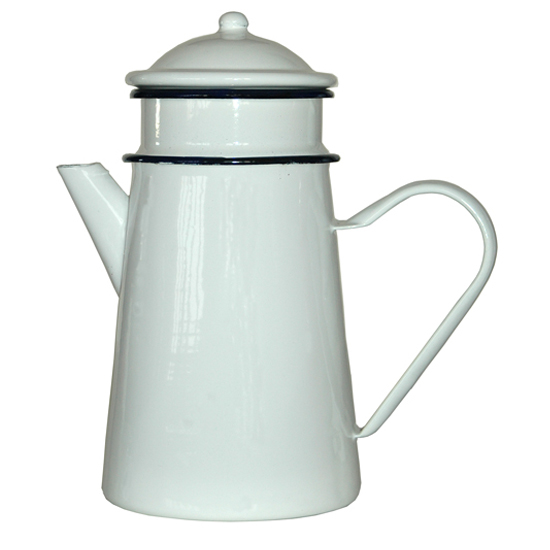 koffiepot + filter 1,5 liter Prijs: € 22.50