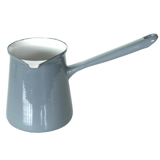 Koffiepot Ø 10 cm- grijs Prijs: € 11.50