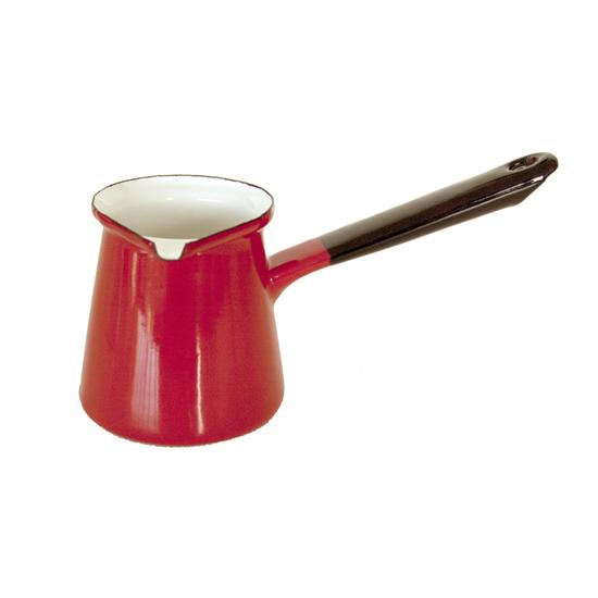 koffiepot Ø 9 cm- rood Prijs: € 8.50